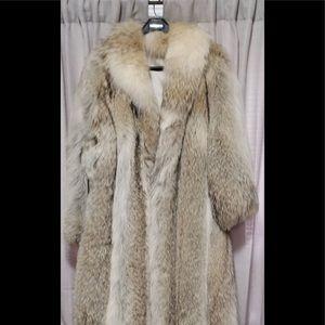 Jackets & Blazers - Long coyote fur